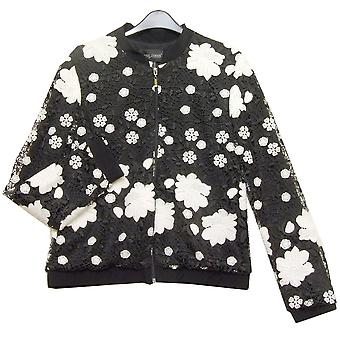 Frank Lyman Jacket 176217 Black With White
