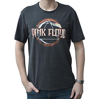 Amplified Pink Floyd On The Run Charcoal Crew Neck T-Shirt L