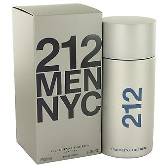 212 por Carolina Herrera Eau De Toilette Spray 6.8 oz/200 ml (hombres)