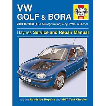 VW Golf & Bora Service och reparation Manual (Haynes Service och bilreparationer manualer)