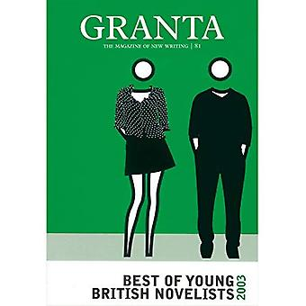 Best of young British novelists 2003