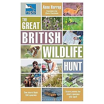 RSPB fantastiska brittiska Wildlife jakten