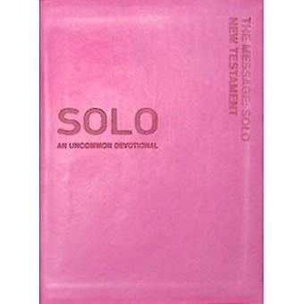 MESSAGE SOLO NT PINK LEATHERLIKE