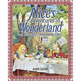 Alice S Adventures au pays des merveilles et Through the Looking Glass: coffret édition
