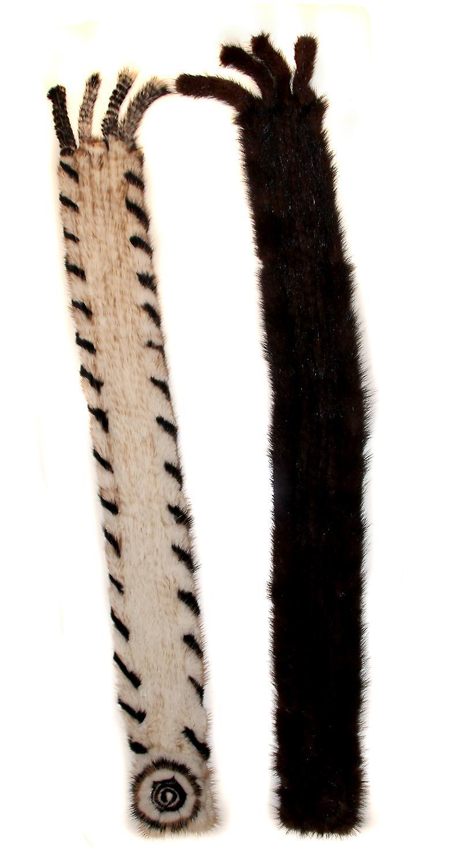 Waooh - Petite écharpe en vison Fabiola