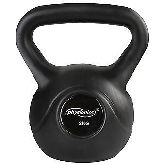 Kettlebell haltère poids musculation haltérophilie exercices gym 2 kg 0701136