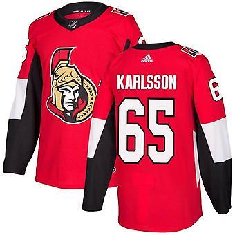 Karlsson #65 Ottawa Senator authentiek Pro NHL Jersey thuis