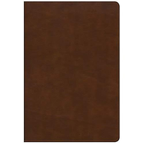 KJV grand Print Ultrathin Reference Bible, Brittish Tan cuirtouch, Indexed, noir Letter Edition
