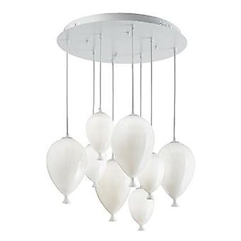 Ideal Lux - Clown White Medium Round Pendant IDL100883