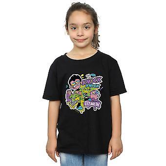DC Comics Girls Teen Titans Go Knock Knock T-Shirt