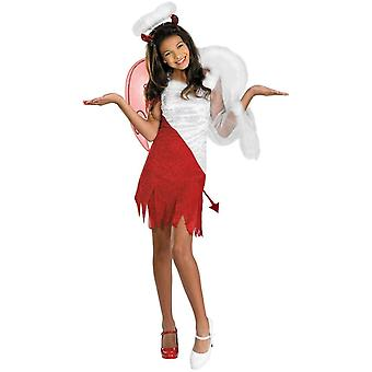 Demi ängel/djävul tonåring kostym