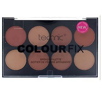 Técnica Colour Fix polvo presionado 8 paleta contorno Bronzer