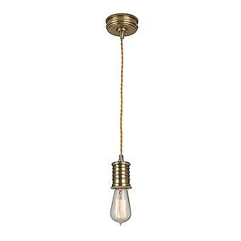 Douille leeftijd koperen Lamp houder hanger - Elstead verlichting Douille / P AB