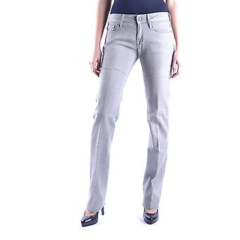 7 For All Mankind Grey Cotton Jeans