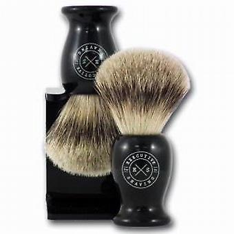 Executive Shaving English Made Super Badger Hair Black Shaving Brush