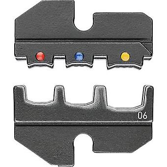 Knipex 97 49 06 Crimp inset Insulated cable lugs, Insulated connectors, Insulated butt connectors 0.5 up to 6 mm² Suitable for brand Knipex 97 43 200, 97 43 E,