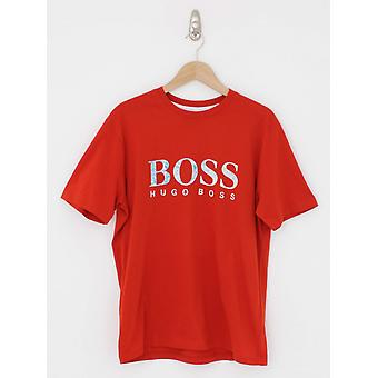 Boss Casual Teecher 4 T.Shirt - Dark Orange
