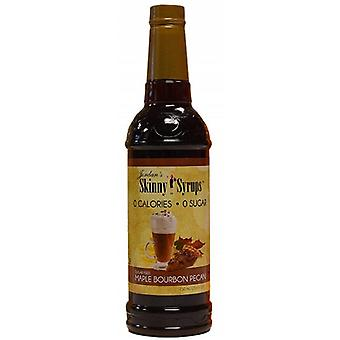 Jordan's Skinny Syrups Sugar Free Syrup Maple Bourbon Pecan 750 ml (Diet , Sweeteners)