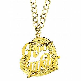 Rocawear Gold Plate Bling Heart Necklace on 22 Inch Extender Chain
