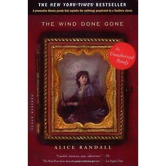 The Wind Done Gone by Alice Randall - 9780618219063 Book