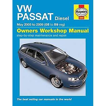 VW Passat Diesel (05-10) Service and Repair Manual - 9780857338839 Bo
