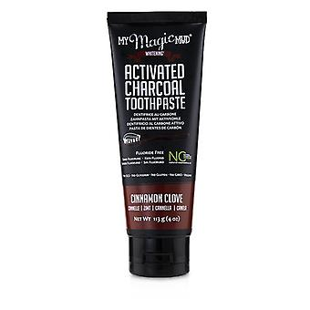 My Magic Mud Activated Charcoal Toothpaste (Fluoride-Free)-Cinnamon Clove 113g/4oz