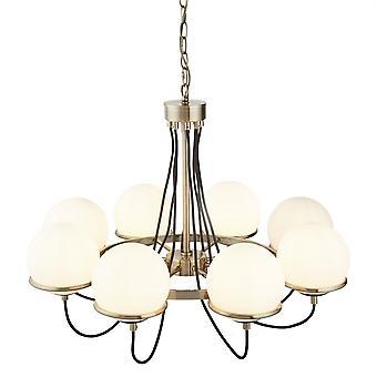Kula Antique Brass osiem światło sufitowe światło - Searchlight 7098-8AB