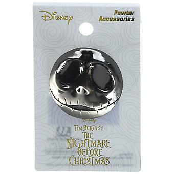 Pin - Nightmare Before Christmas - Jack Deluxe Pewter Lapel New 22639