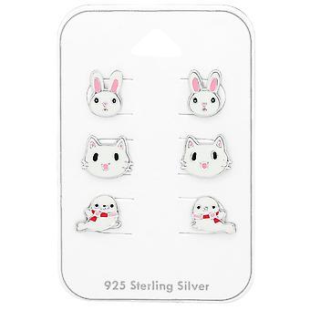 Tier - 925 Sterling Silber Sets - W38715X