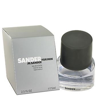 Sander by Jil Sander Eau De Toilette Spray 2.5 oz / 75 ml (Men)