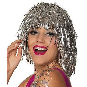 Parrucca Glitter Parrucca Glitter Parrucca di Ordito