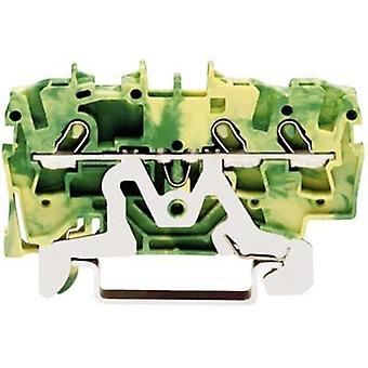 PG terminal 4.20 mm Pull spring Configuration: Terre Green-yellow WAGO 2001-1307 1 pc(s)