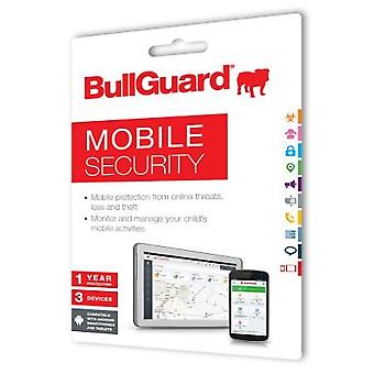 Bullguard New Mobile Internet Security, 1 Year, 3 Devices, Retail (25 Pack)