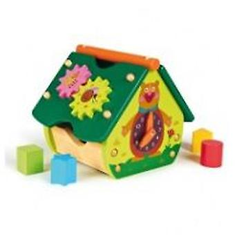 Oops The Happy House Forest Wooden Toys (Toys , Preschool , Puzzles And Blocs)