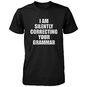 Correcting Your Grammar Unisex T-shirt Teacher's Day Gifts Ideas