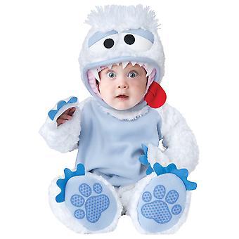Afskyelige Snowbaby Yeti Bigfoot Deluxe buksetrold drenge kostume