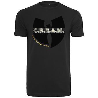 Wu-wear hip hop shirt - C.R.E.A.M. Black