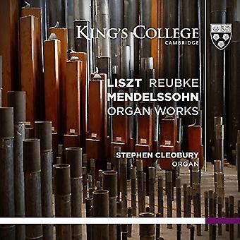 Liszt / Reubke / Mendelssohn / Wigan, Stephen - orgelværker [SACD] USA import