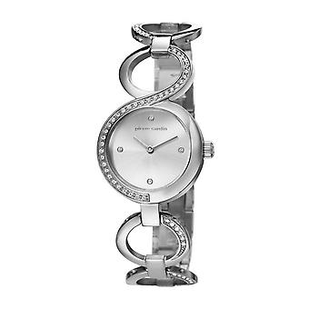 Pierre Cardin ladies watch wristwatch JOLIETTE silver PC106602F02