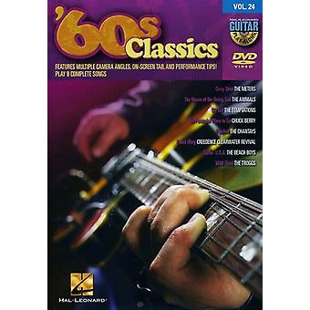 60 ' s Classics - 60 ' s Classics_Guitar Playalong [DVD] Stati Uniti importare