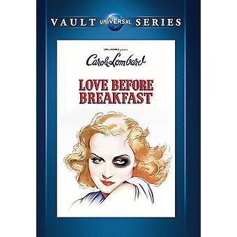 Love Before Breakfast [DVD] USA import