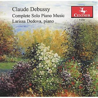 C. Debussy - Claude Debussy: Complete Solo Piano Music [CD] USA import