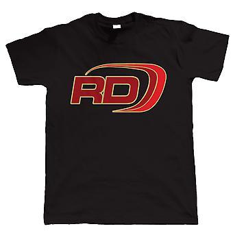 RD Logo, Mens Biker T Shirt | Motorbike Enthusiast Vintage Modern Classic Motorcycle Club 2 Two Stroke Cafe Racer Superbike Gentleman Biker | Cool Birthday Christmas Gift Present Him Dad Husband Son