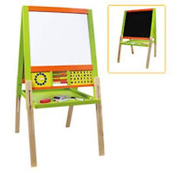 Dimasa Pizarra Madera 2X1 Mag. Tiza (Toys , Educative And Creative , Tables And Desks)