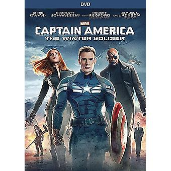 Captain America : The Winter Soldier [DVD] USA import