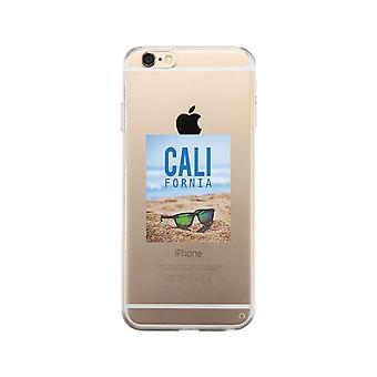 California Beach Sunglass duidelijk telefoon geval