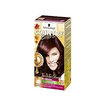 Schwarzkopf Country Colors 75 Madagascar - Rouge Noir