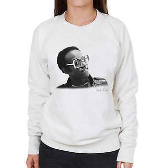 Bobby Womack London 1982 kvinners Sweatshirt