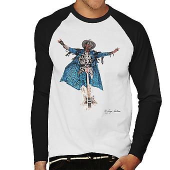 Bootsy Collins Guitar Men's Baseball Long Sleeved T-Shirt