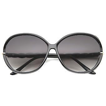 Womens fjäril solglasögon med UV400 skyddat Gradient Lens